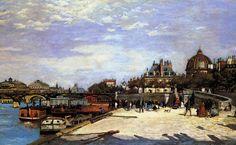 Renoir: The Pont des Arts, Paris