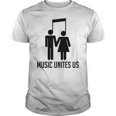 Music Unites Us T-Shirts, Hoodies, Sweaters