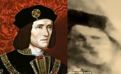 The faces of Richard III - Photos: Alamy Stock Photo / Caters News Agency. Does the ghost of Richard III haunt his grave?