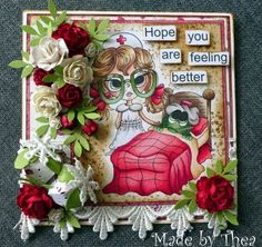 by Thea from Lacy Sunshine DT