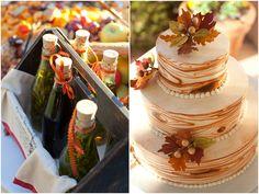 Very beautiful outdoorsy cake!  :)