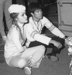 Bruce Lee + Sharon Tate. Two beautiful people who died so incredibly young.