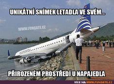 Unikátní snímek letadla ve svém…