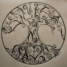 Tree of life with heart