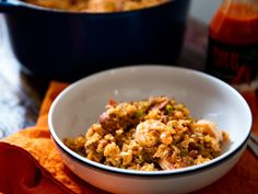 Creole-Style Red Jambalaya With Chicken, Sausage, and Shrimp