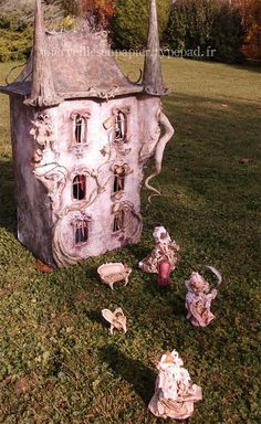 Enchanted Doll House from France