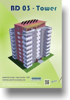Papírový model - Bd 03 Tower 2v1
