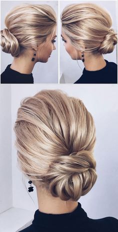 Over 200 charming wedding hairstyles from . - Over 200 charming wedding hairstyles from - Chignon Wedding, Bridal Hair Updo, Wedding Hair And Makeup, Hairstyle Wedding, Hair Wedding, Style Hairstyle, Hairstyle Ideas, Wedding Blog, Wedding Rings