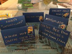 More labels Minions Birthday Theme, Minion Party, 7th Birthday, First Birthday Parties, Birthday Party Themes, First Birthdays, Birthday Ideas, Diy Party, Party Ideas