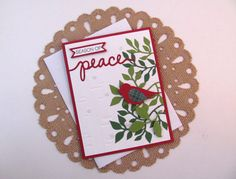 Season of peace holiday greeting card red wing bird peace mdorignials season of peace holiday greeting card green wing bird peace christmas card m4hsunfo Images