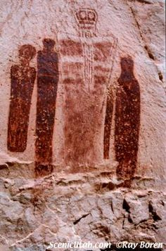 Anasazi Petroglyphs, Utah
