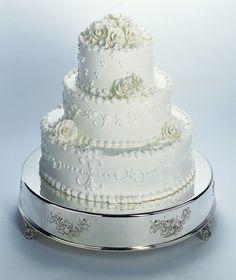 Round Wedding Cake Tableau Stand