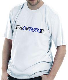 Camiseta Professor de Matemática