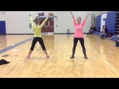 Fairlawn Pee Wee Cheer 2015 Age 3-PK Dance - YouTube
