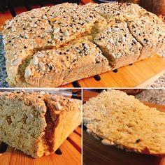 Pão paleo fofo, leve e baixo em hidratos de carbono