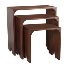 Distressed 3-piece Nesting Tables - Overstock™ Shopping - Great Deals on Antique Revival Coffee, Sofa & End Tables