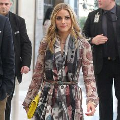 Olivia Palermo  Burberry Fall 2014
