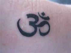 Aum Divine Energy God Mantra Om Sacred Spirit Supreme Symbol Tattoo
