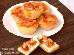 Pizza Cups - Step by Step | Fauzia's Kitchen Fun