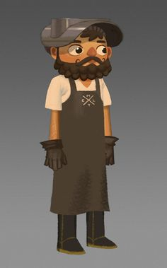 Double Fine - Broken Age lumberjack curtis.....not Shay, but still an awesome character! :D