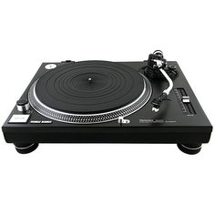 The Technics GR features precise motor control technology that eliminates cogging from rotation irregularity and includes a low-vibration, high-rigidity platter, and high-sensitivity tonearm. Purchase the G from the turntable experts at Audio Den. Technics Sl 1200, Platine Vinyle Technics, Dj Decks, Direct Drive Turntable, Dj Gear, Record Players, Ac Power, Audio Equipment, Digital Technology