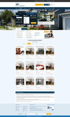 Housing website design