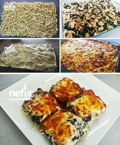 Spinach Oven Noodle (Don't Miss This Recipe) – Yummy Recipes - Türkische Küche Best Dinner Recipes, Great Recipes, Yummy Recipes, Baked Fish Fillet, Herb Stuffing, Homemade Cornbread, Easy Casserole Recipes, Healthy Comfort Food, Food Recipes