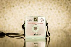 girl scouts camera vintage