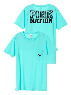 Nation Campus Short Sleeve Tee PINK