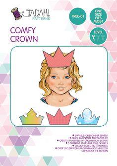 Free Crown  Sewing Pattern