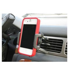 Check directions without taking your hands off of the wheel when you have the Air Vent Cell Phone Holder