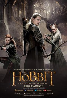 New International Posters Hit For THE HOBBIT: THE DESOLATION OF SMAUG