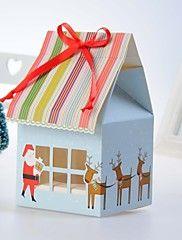 Lovely Christmas Design Cake Box (Set of 12) – USD $ 3.99