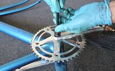 Monter un pédalier et son boitier à la vitesse de la lumière ! Custom Bikes, Bicycle, Vintage, Veil, Urban Bike, Vacation, Bike, Bicycle Kick, Custom Motorcycles