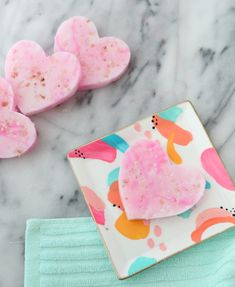 Make Your Own Exfoliating Soap Bars