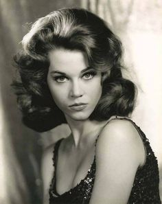 30 Beautiful Black and White Portraits of a Very Young Jane Fonda From Between the Late and Early ~ vintage everyday Vintage Hollywood, Hollywood Glamour, Hollywood Stars, Hollywood Actresses, Actors & Actresses, Jane Seymour, Catherine Deneuve, Marie Christine Barrault, Jane Fonda Barbarella