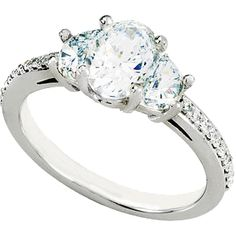 Madrid | wedding rings cubic zirconia - Nue Diamonds