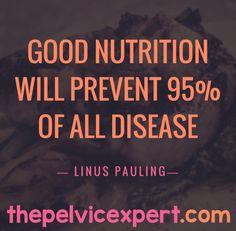 Good Nutrition the best way to prevent Disease  #thepelvicexpert #endometriosis #endomarch #tendo #pelvicmafia #pelvicpain #womenshealth