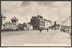 The Pavilion and Promenade, Penzance, Cornwall, c.1940 - Jarrold Postcard