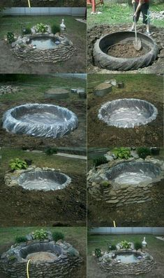 Discover thousands of images about diy water feature, amazing backyard fountains, backyard water feature ideas, DIY backyard water fountain, decorative water fountains Ideas Backyard Water Fountains, Ponds Backyard, Backyard Landscaping, Diy Landscaping Ideas, Diy Backyard Ideas, Diy Garden Fountains, Fountain Garden, Outdoor Fountains, Patio Ideas