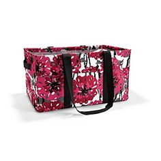 Thirty One Deluxe Utility Tote in Bold Bloom - 4441 - No Monogram