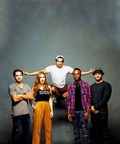 Dylan Sprayberry, Holland Roden, Tyler Posey, Khylin Rhambo and Cody Christian | SDCC 2016 - Entertainment Weekly's Comic-Con Portraits
