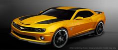 The third Transformers movie opens this week. And Chevrolet says it will offer a Bumblebee edition of the 2012 Camaro to celebrate.The Transformers Special Edition Camaro will be a . Camaro Ss, Camaro 2012, Lamborghini, Ferrari, Bugatti, General Motors, Cool Sports Cars, Sport Cars, Cool Cars