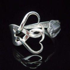 Recycled Jewelry Fork Bracelets