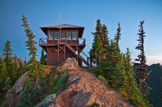 Gobblers Knob Fire Lookout in Mount Rainier National Park