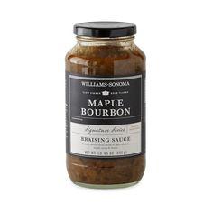 Williams-Sonoma Braising Sauce, Maple Bourbon