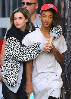 It looks like things are heating up in the romance department for Jaden Smith! Kylie Jenner's former fling and his new girlfriend, Sarah Snyder, have been photographed multiple times over the past few months looking extra adorable!