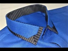 Sew Men Clothes How to Sew a Shirt Collar (designer ) - Latest Kurta Designs, Mens Kurta Designs, Sewing Men, Sewing Clothes, Men Clothes, Collar Designs, Shirt Designs, Indian Men Fashion, Mens Fashion