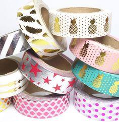 Masking tape métallisés                                                                                                                                                      More                                                                                                                                                                                 More
