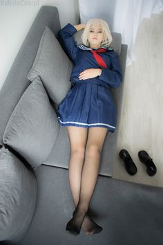 #kinofuko #kalisiacos #cosplay #cosplayer #coser #fategrandorder #fate_grand_order #mysterious_heroine_x_alter #polish #polish_girl #polishgirl #girl #teen #teenager #animecosplay #anime_cosplay #schoolgirl #school_girl #schooluniform #school_uniform #skirt #stockings #pantyhose #tights #legs #feet #nylon #blonde #lying #shoes #removedshoes #removed_shoes #toes #pleatedskirt #plated_skirt #hosiery #blackpantyhose #black_pantyhose #blackstockings #black_stockings #cute #cuteness #kawaii…